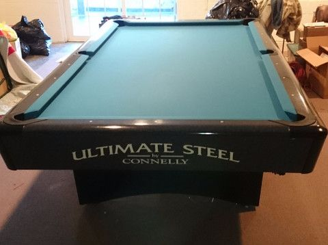Used Connelly Billiards Ultimate Steel Pool Table Pool Tables - Connelly ultimate pool table