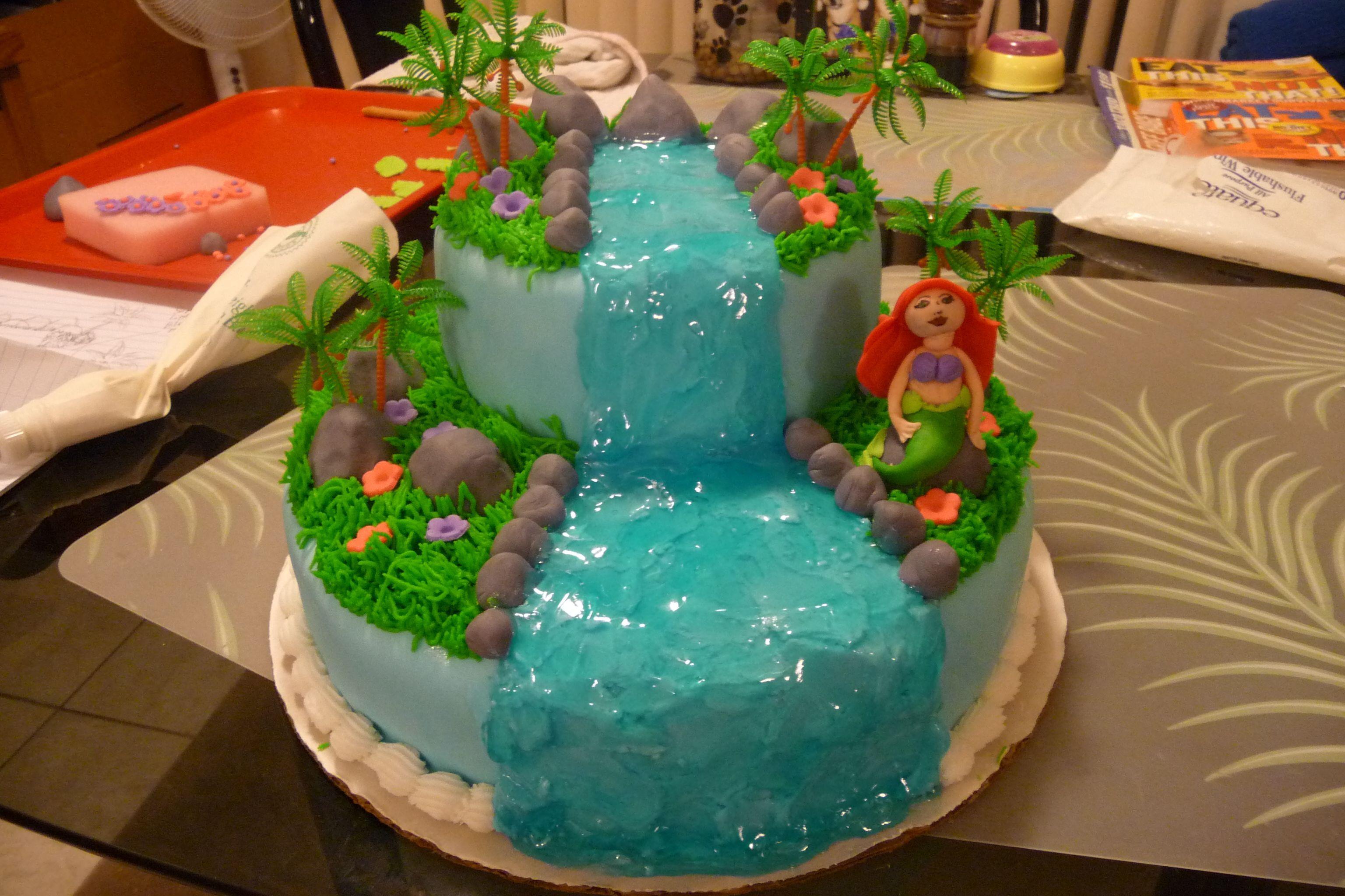 Ariel birthday cake walmart birthday cakes birthday