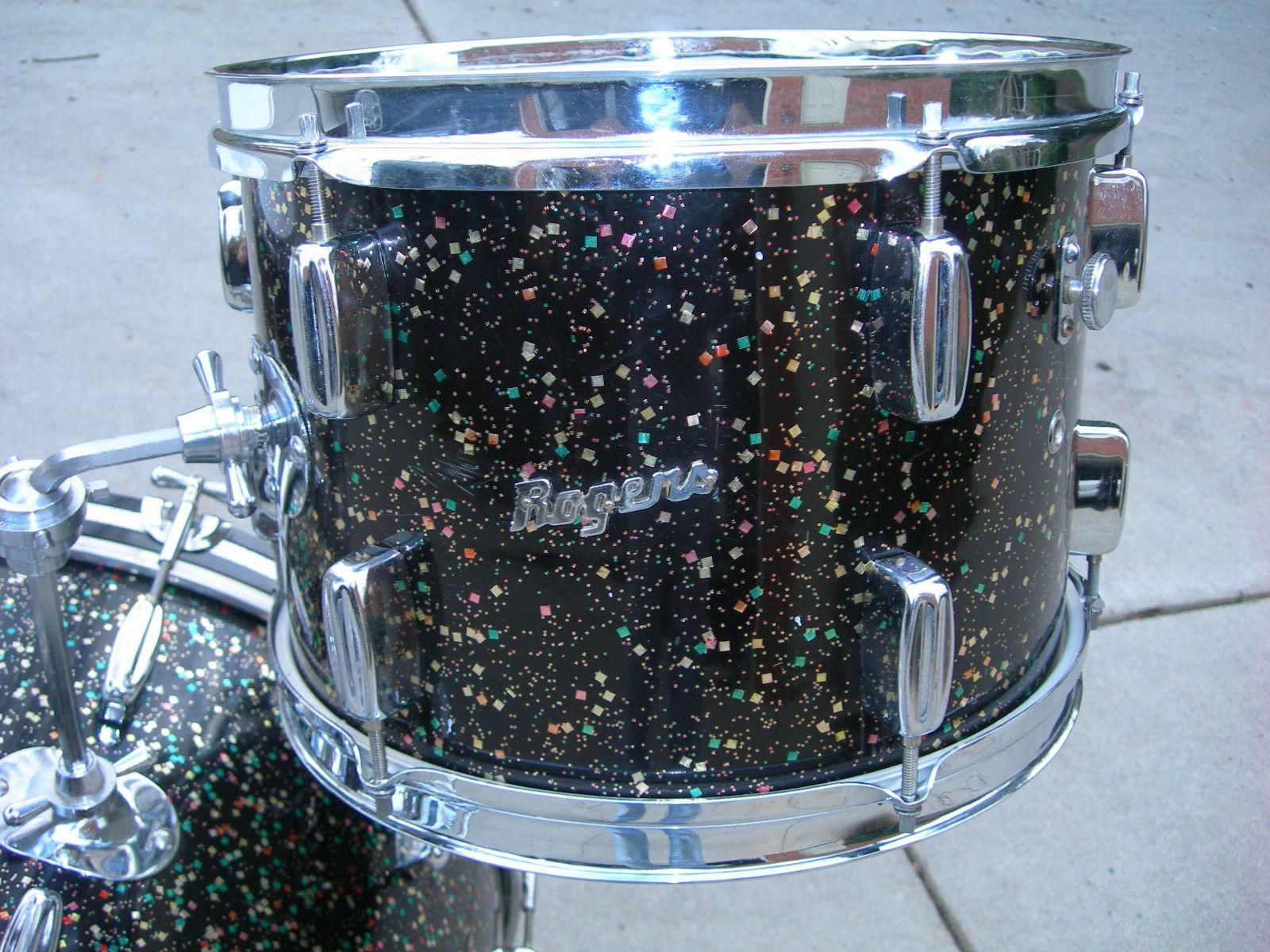 Rogers Mardi Gras Pearl · Rogers Drumsvintage
