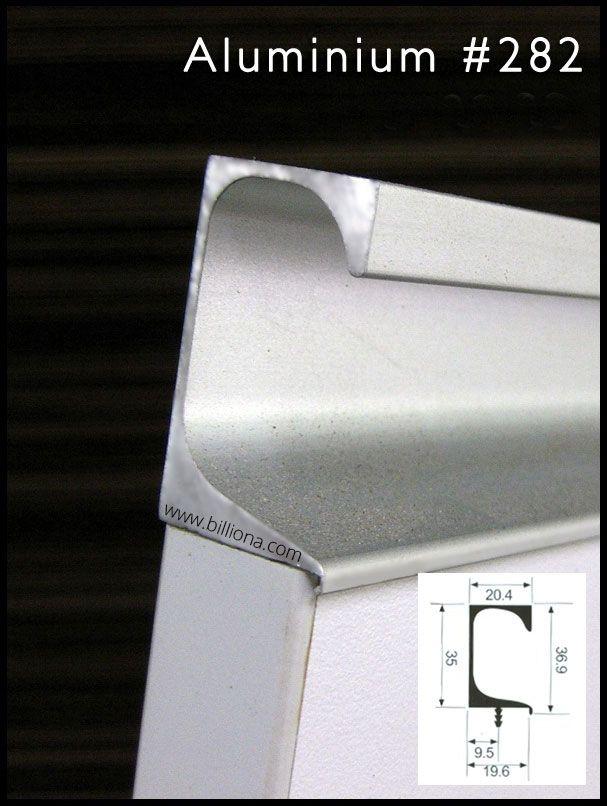Aluminium Profile Handle 282 Aluminium Kitchen Handles Handle