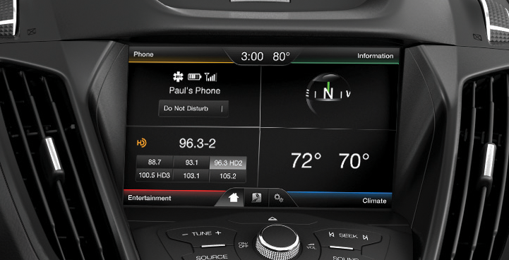 The Ford Sync Customizable Touch Screen Is Intuitive To Use Whitemarshford Ford Sync Sync Ford
