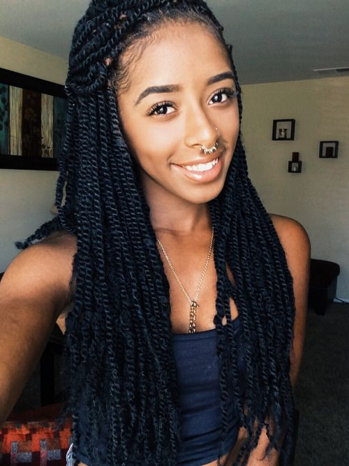Alexis-Danielle Small marley twists | Braids ¤ Twist (Natural hair ...