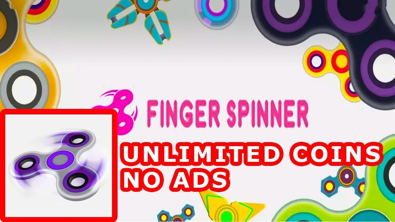 fidget spinner mod apk mod unlimited coins no ads android
