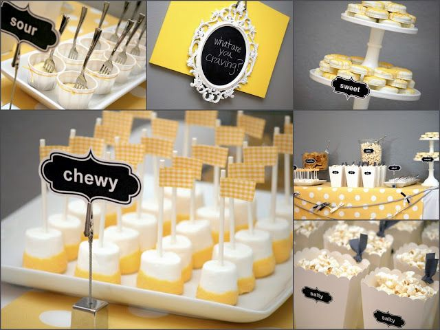 What are u craving...baby shower idea