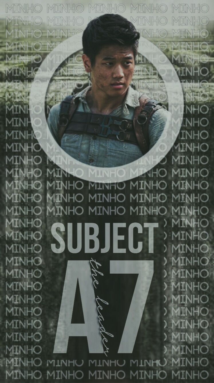 Made this edit of Minho from The Maze Runner   Maze runner movie ...