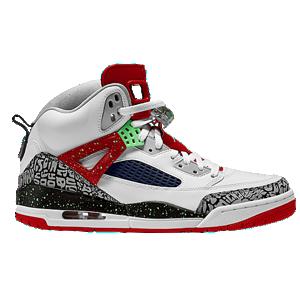 online store 9f9e8 2da22 Jordan Spizike - Men s - White Light Poison Green University Red Grey Mist