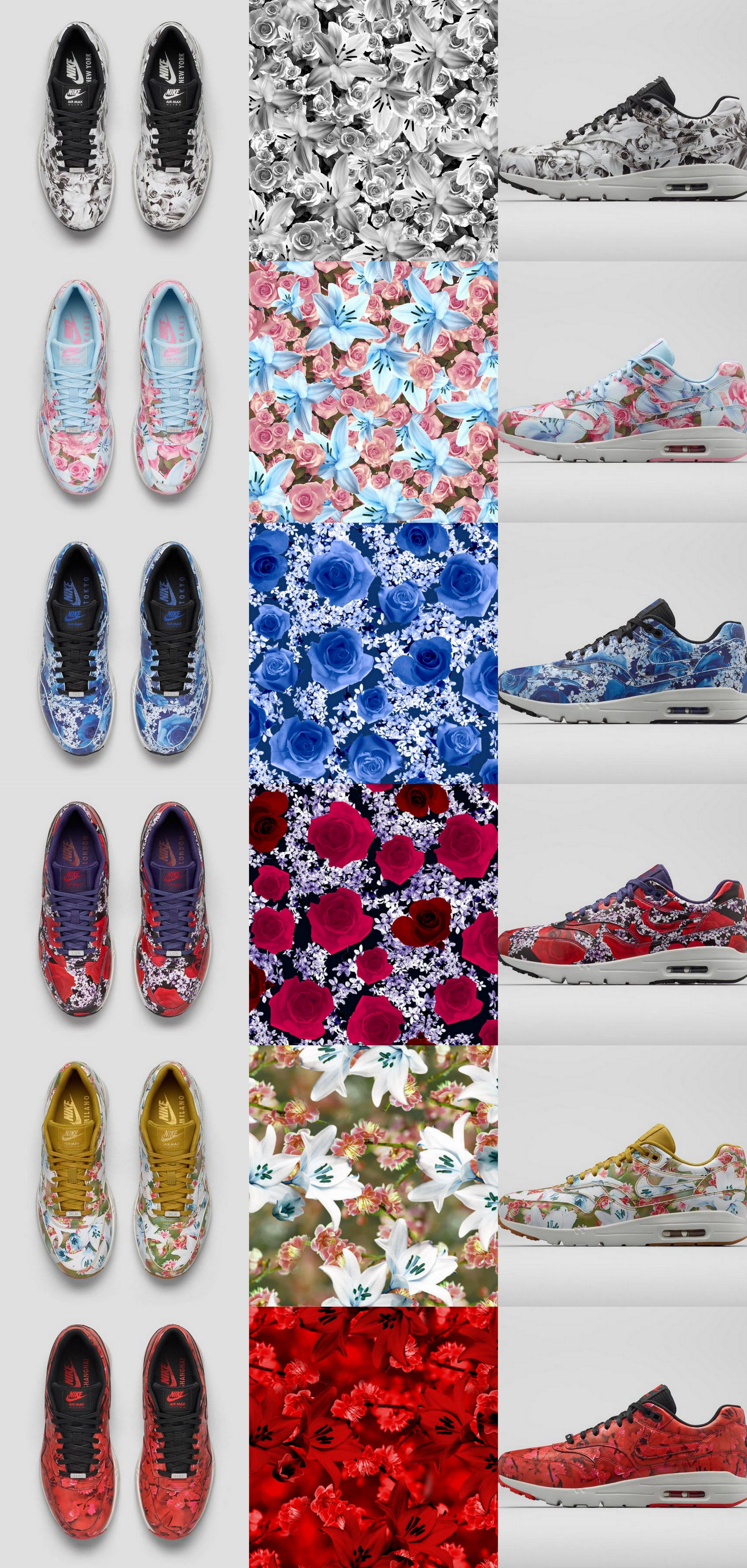 free shipping 2e521 c2b6e BOUQUET OF MAX  THE NIKE AIR MAX 1 ULTRA CITY COLLECTION  NiKE  design   sneakers