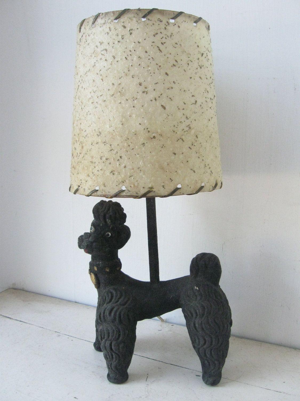 Kitschy 1950s black poodle lamp 5000 via etsy atomicmid kitschy 1950s black poodle lamp 5000 via etsy geotapseo Images