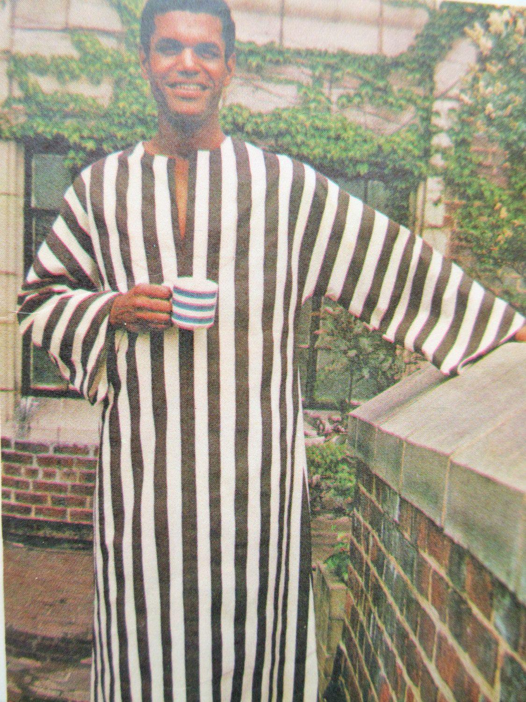 Vintage Butterick 3383 Sewing Pattern, 1970s Caftan Pattern, Man\'s ...
