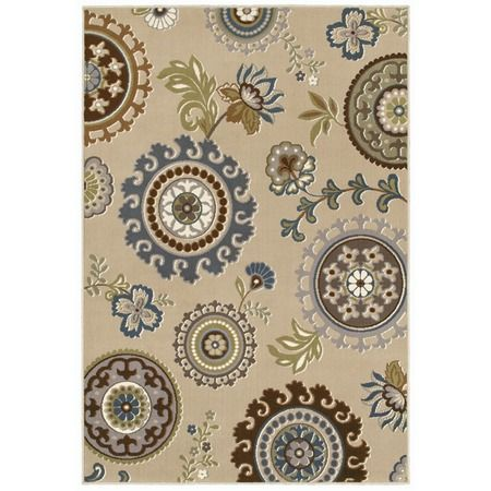 The Virginia Rug In Sand From The Shaw Rugs Event At Joss And Main Combines Medallions And Floral Designs Shaw Rugs Rugs Area Rugs