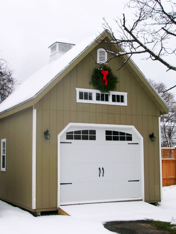 14x20 2 Story A Frame Garage Wood Tex Products In 2019