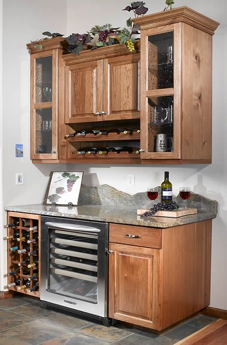 Best Built In Wine Bar For The Kitchen Cabinet Bars For Home 400 x 300