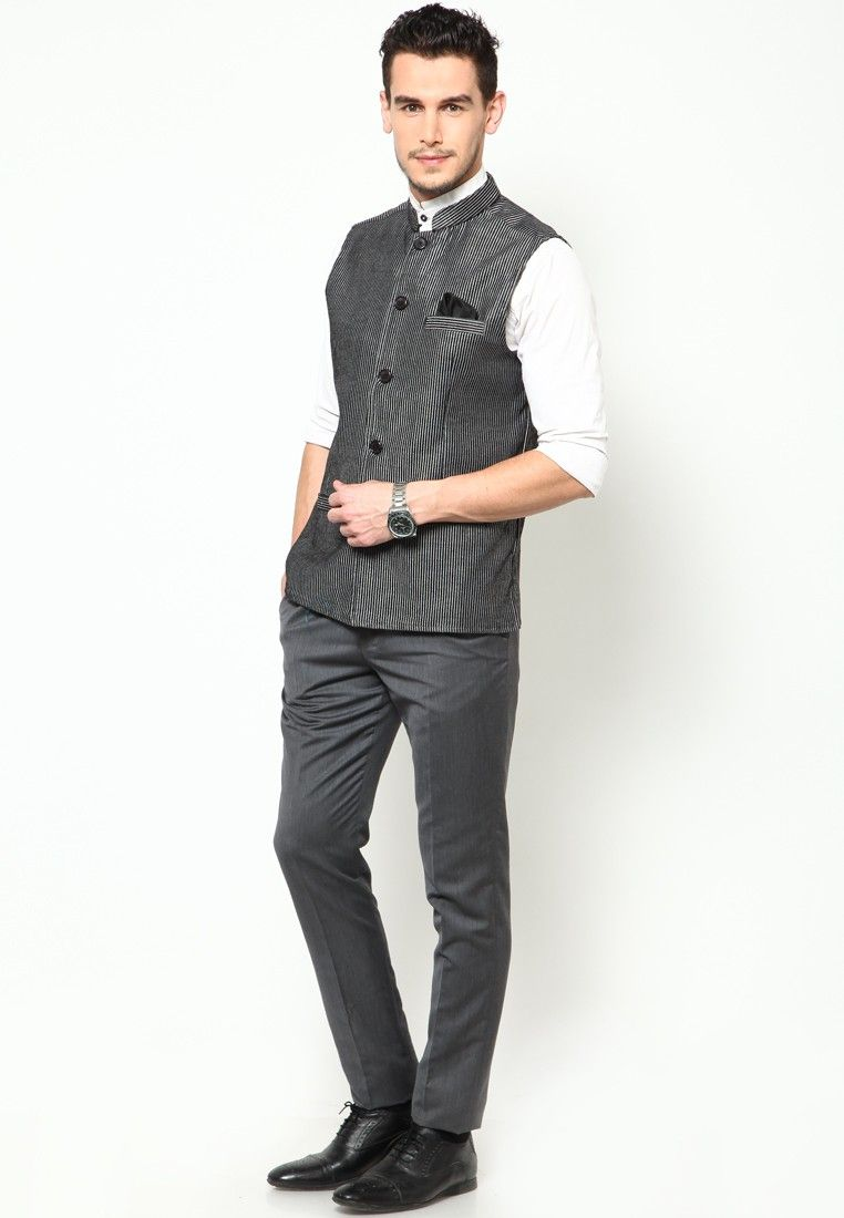 c082999fa Hip khadi half sleeve kurta with jacket - Google Search | Dapper ...