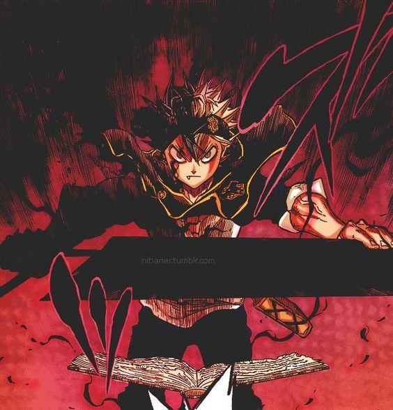 Anime Photo: *Asta Demon Form: Black Clover*