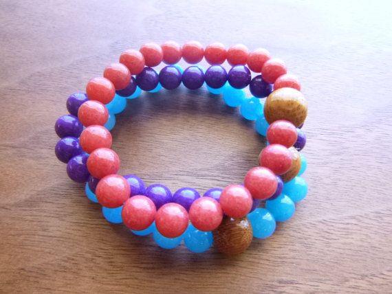 Candy Jade Bracelet Gem Candy Bracelet Purple by GemCandyJewels, $12.00