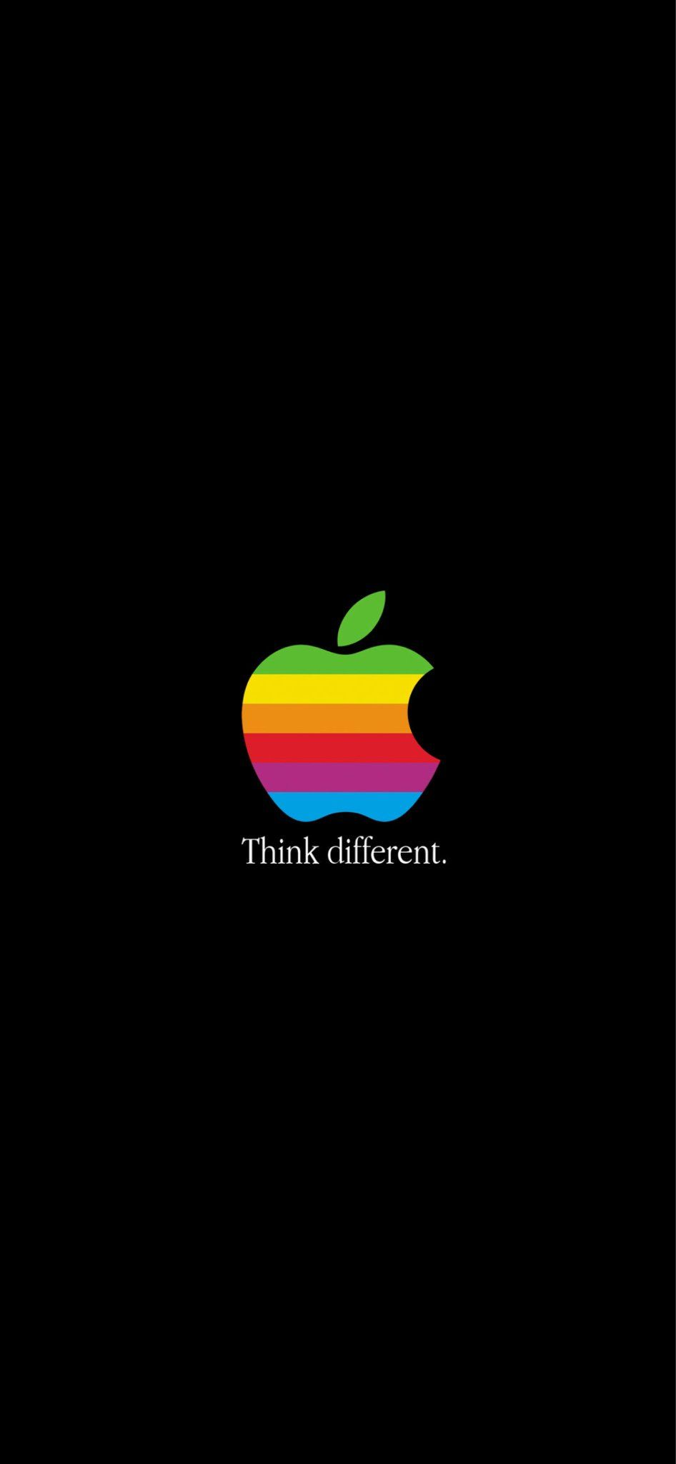 Classic Logo Apple Iphone 壁紙 アップルロゴ 壁紙