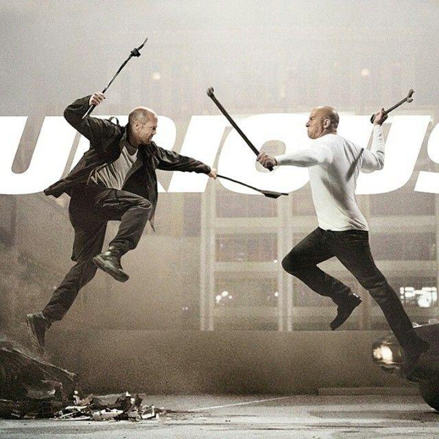 Toretto vs Shaw