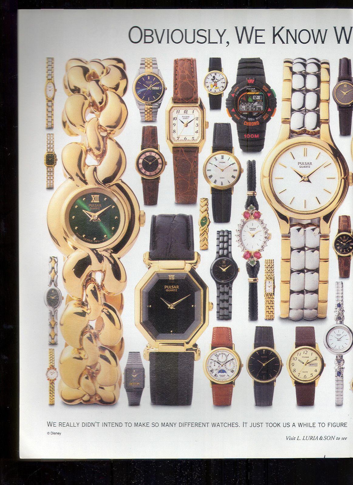Pulsar Watch Watches Vintage