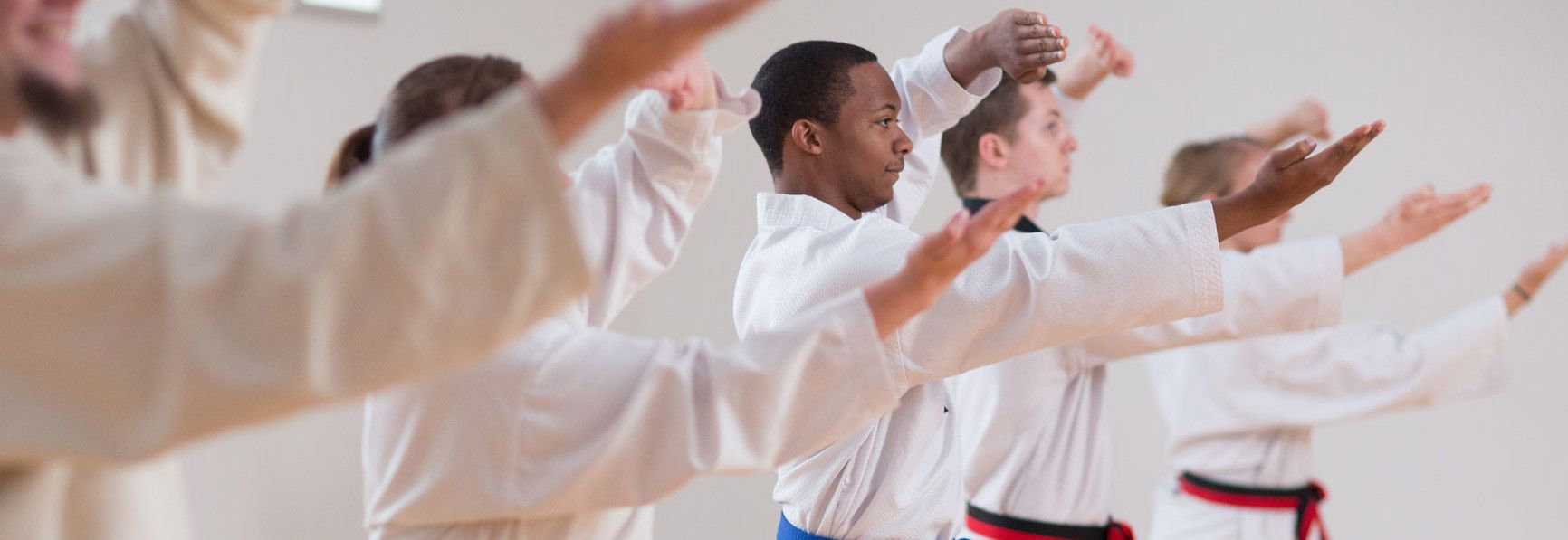 By participating in martial arts you can greatly improve