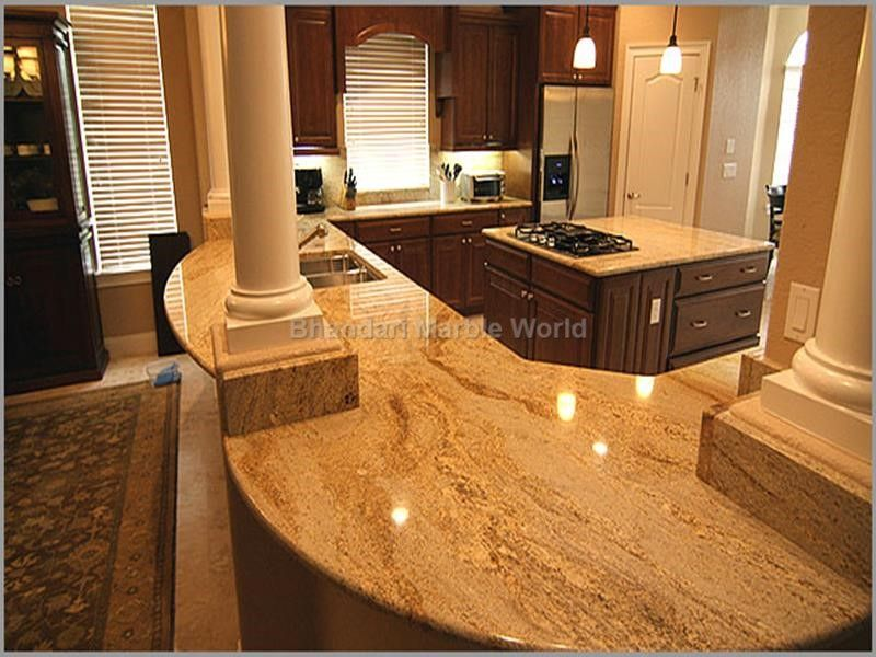 Kashmir Gold Granite We Are Manufacturer Exporters And Suppliers In India You Can Granite Countertop Designs Granite Countertops Kitchen Granite Countertops