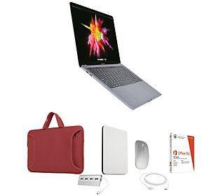 "2019 Apple Macbook Pro 13"" Retina 128GB &Office 365 - QVC.com"