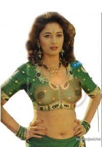 actress nude dixit Indian madhuri
