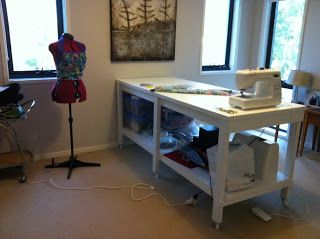 ideas for curtain making tables