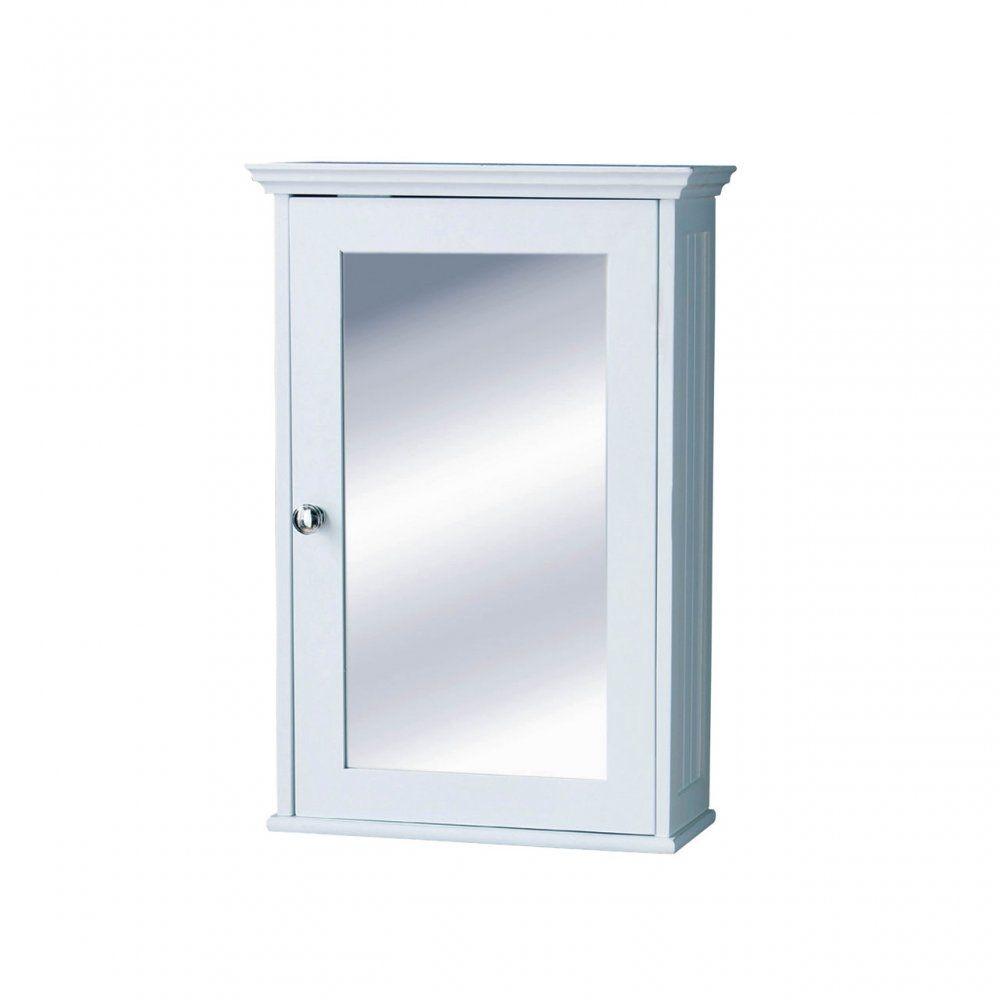 White Mirrored Corner Bathroom Cabinet | http://drrw.us | Pinterest ...