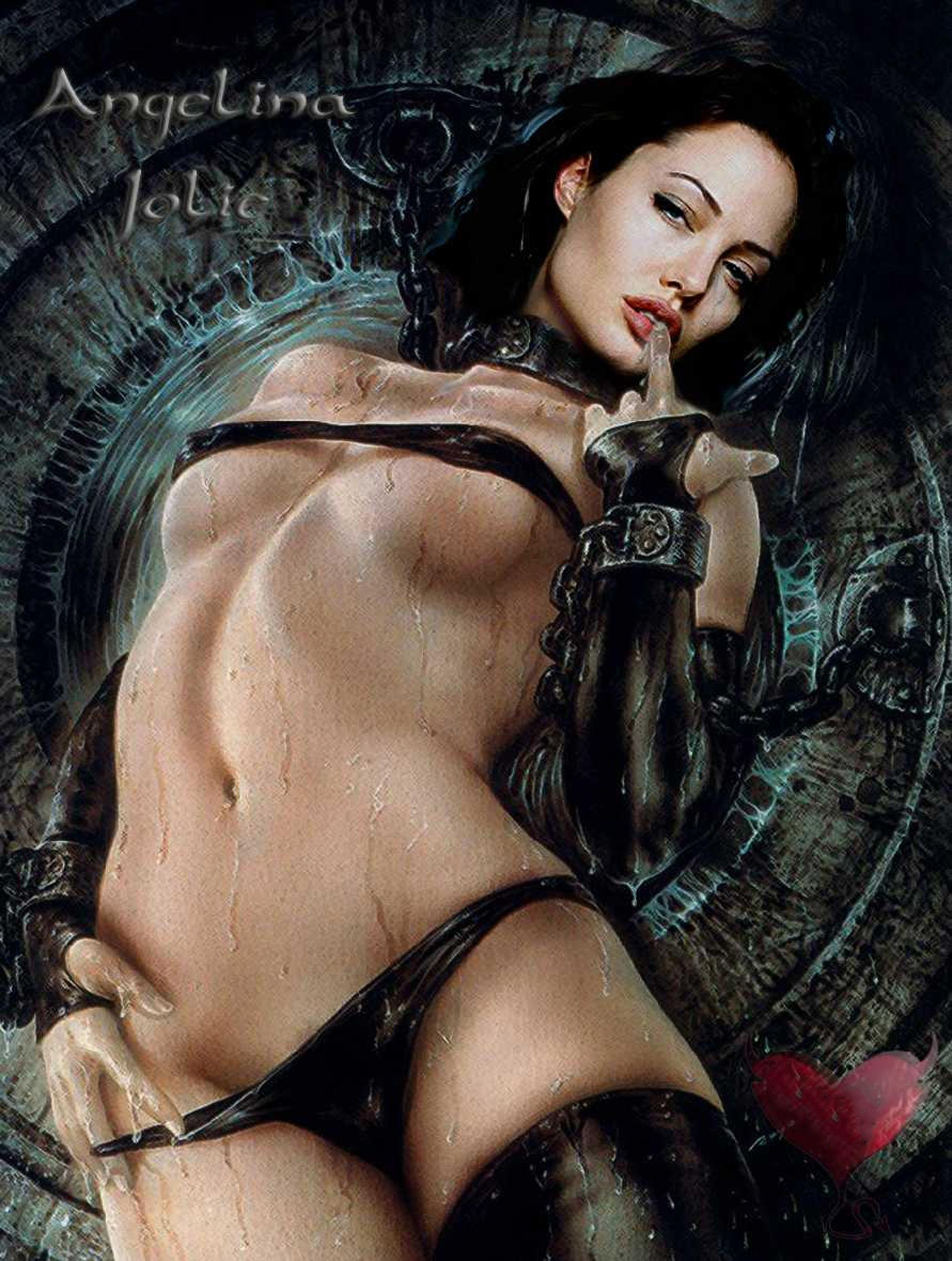 Angelina Jolie Erotic Photo