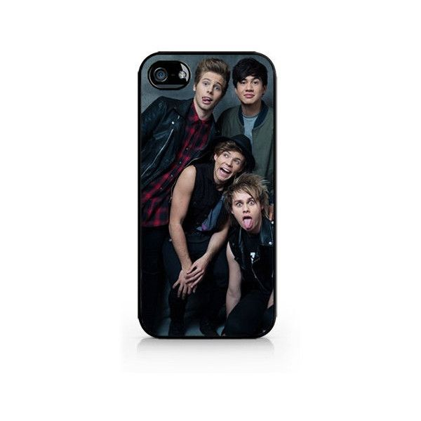 IPC-322 - 5SOS - 5 Seconds of Summer - iPhone 4 / iPhone 4S / iPhone 5... (£1.29) ❤ liked on Polyvore featuring accessories, tech accessories, phone cases, 5sos, phone, iphone cases, iphone cover case, black iphone case en apple iphone cases