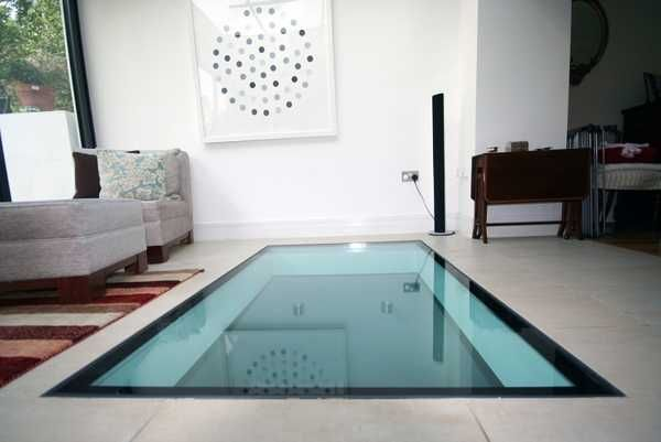 25 Glass Floor And Ceiling Designs Opening And Enhancing Modern Home  Interiors