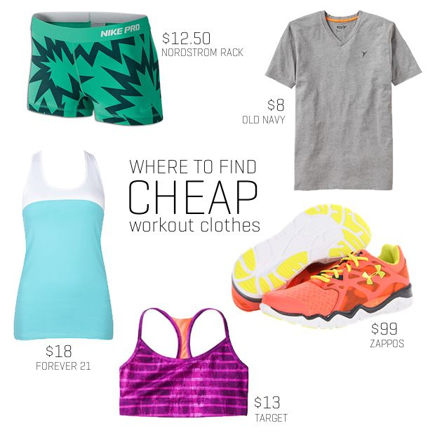 7 Places to Find Cheap Workout Clothes | Running shoes, Cheap nike ...
