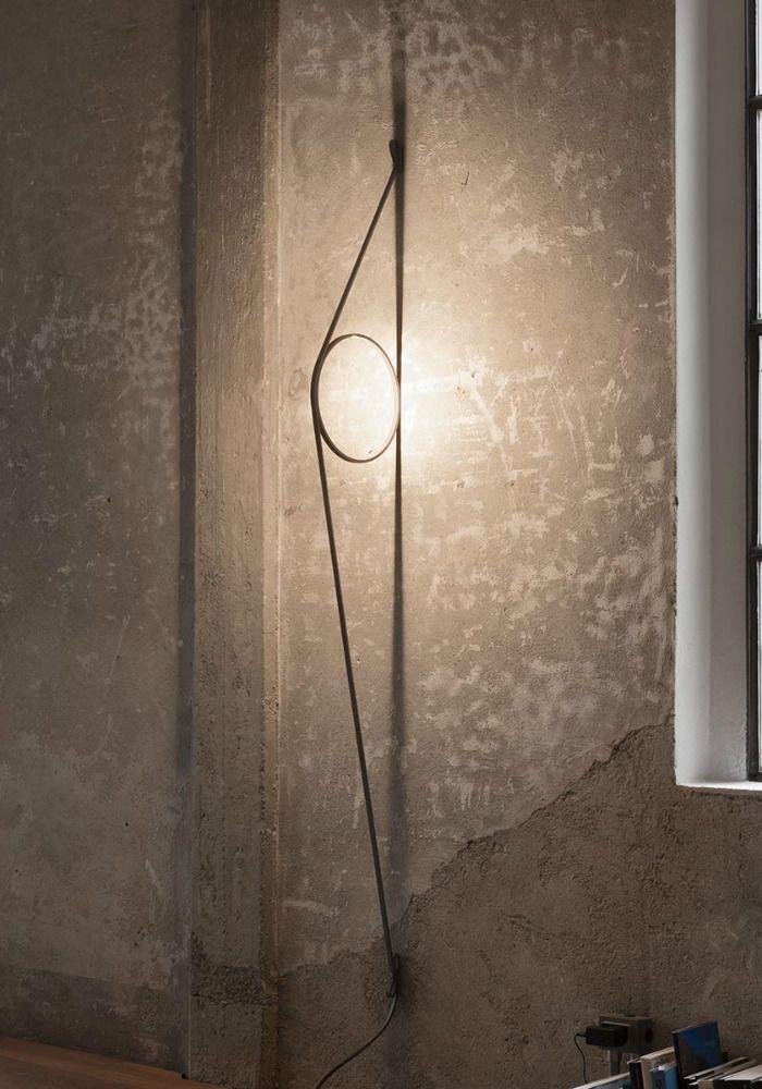 Flos Wirering lampada da parete a led composta da un cavo