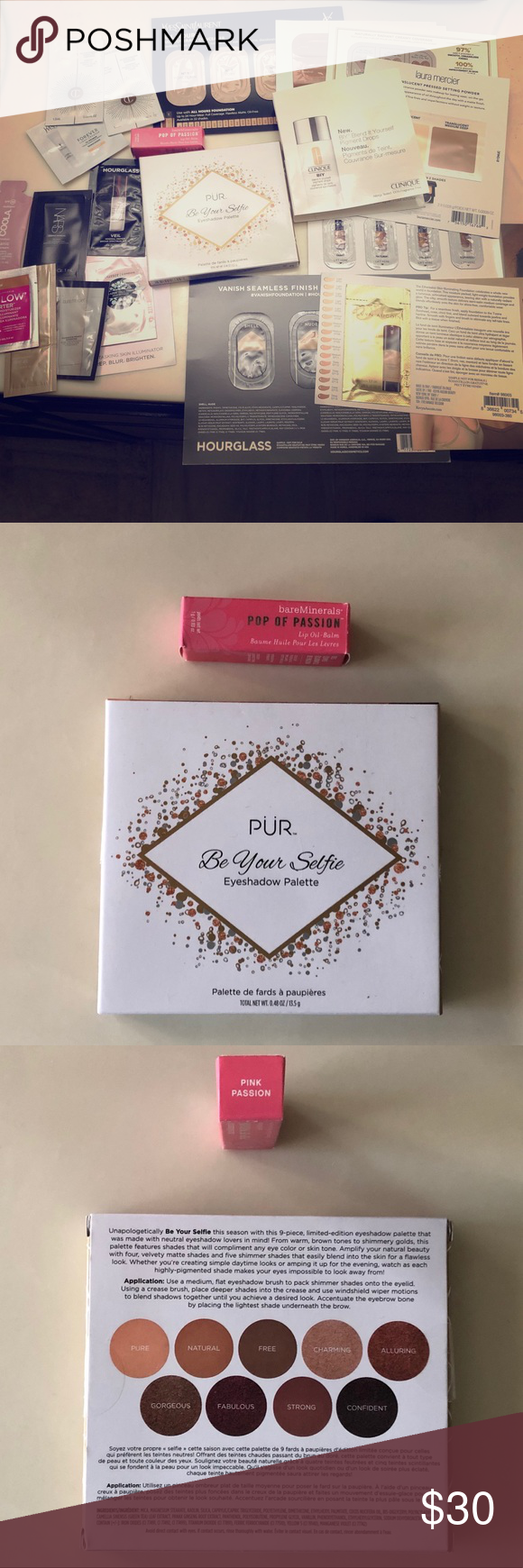 FinalPrice NEW PÜR Palette &BareMineralsLipOil Lip oil