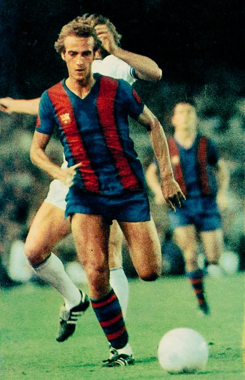 Johann Neskens Futbol español, Barcelona, Deportes