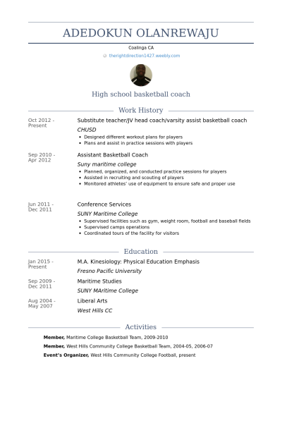 Pin by Nouf on cv | Resume coach, Sample resume, Cover ...