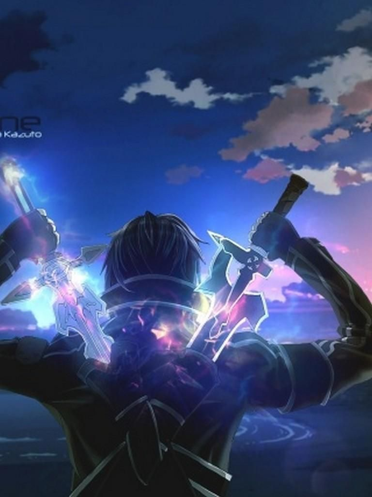 Best Anime Wallpaper Hd For Android Choose Hd Wallpapers With Different Resolutions Depending On The Screen Si In 2020 Online Art Sword Art Online Wallpaper Sword Art