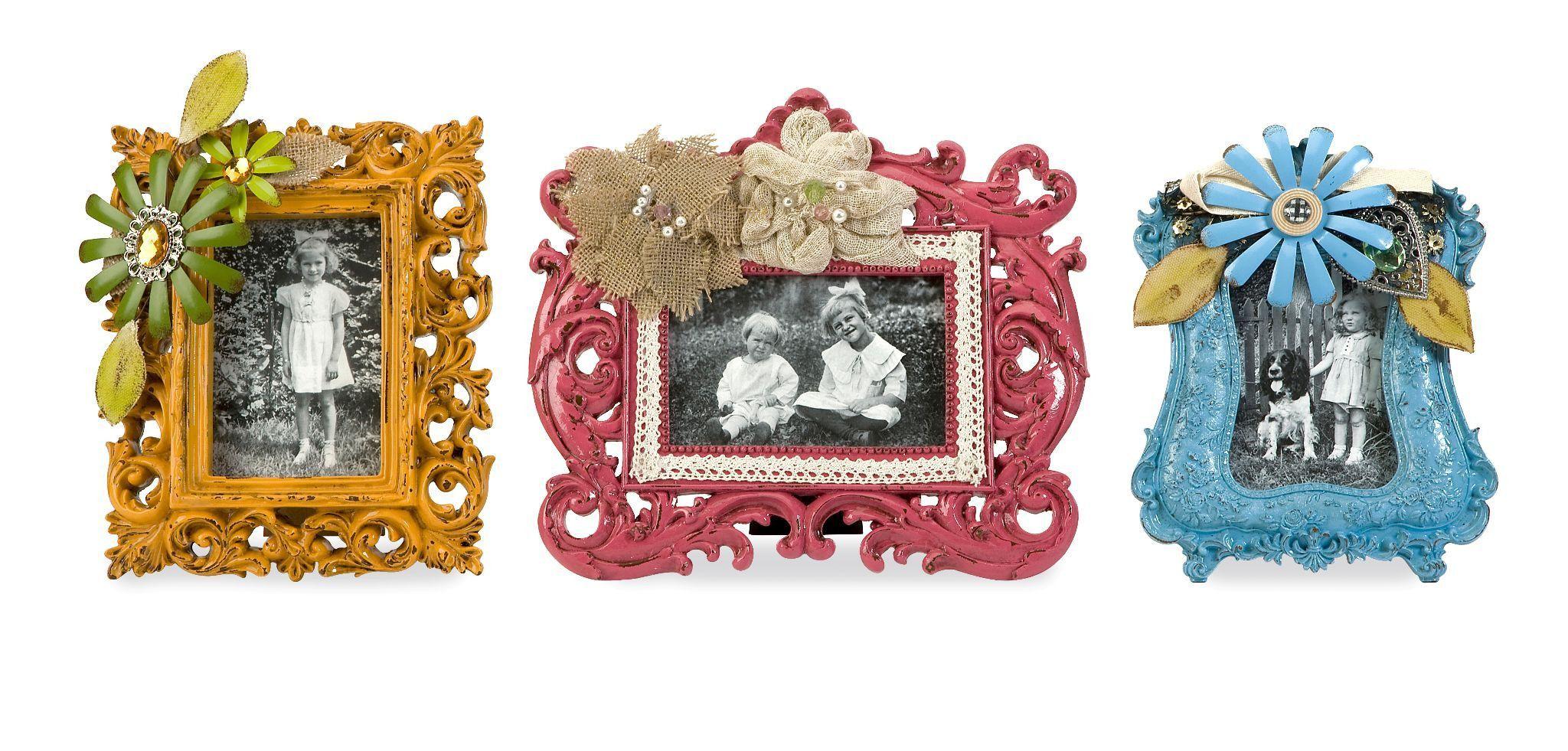 Abbbott Embellished Photo Frames - Set of 3 | Products | Pinterest ...