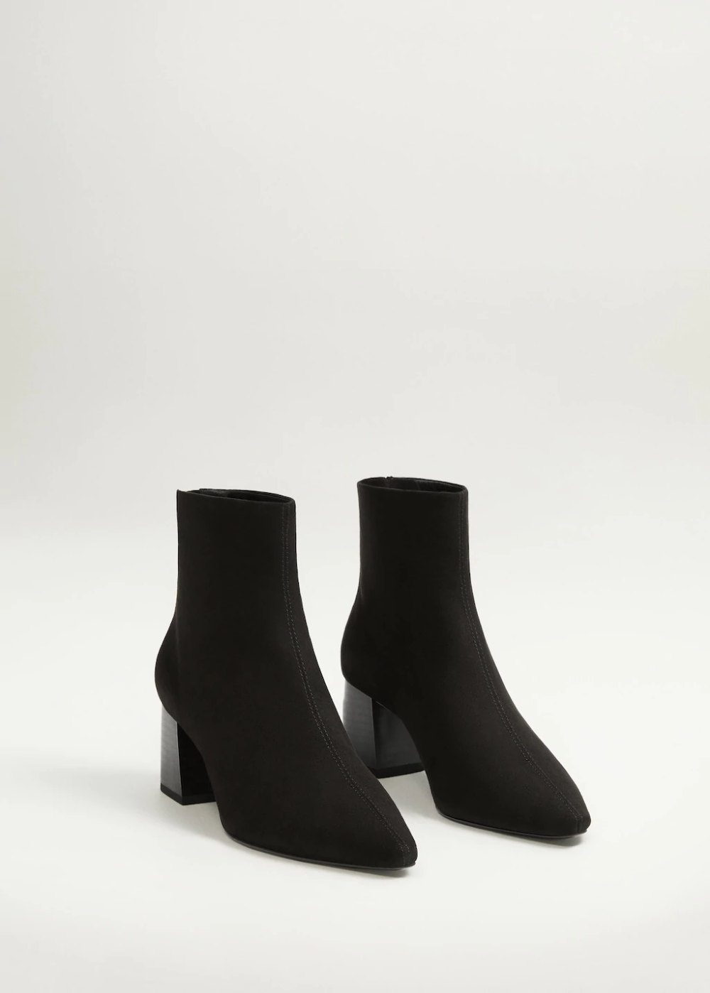 Heel zipped boots – Woman