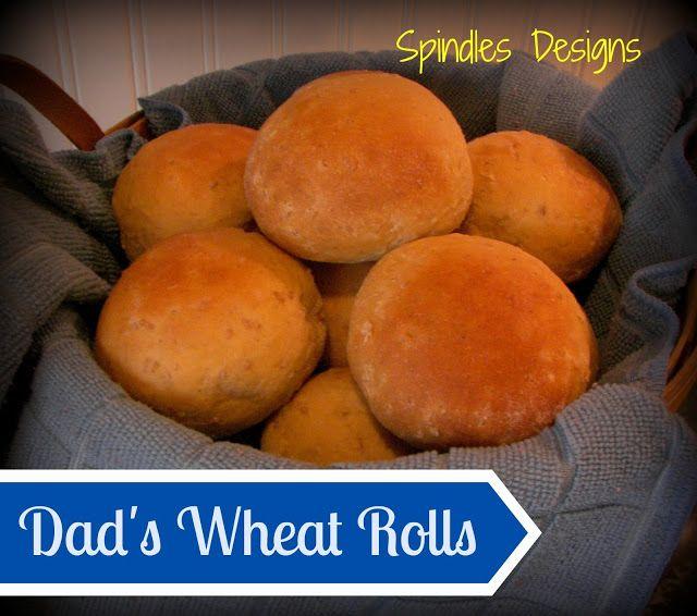 Wheat Rolls www.spindlesdesigns.com #wheatrolls