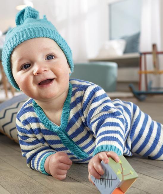 Strampelanzug, S9096 #BabySmiles #BravoBaby185 #MerinoWool
