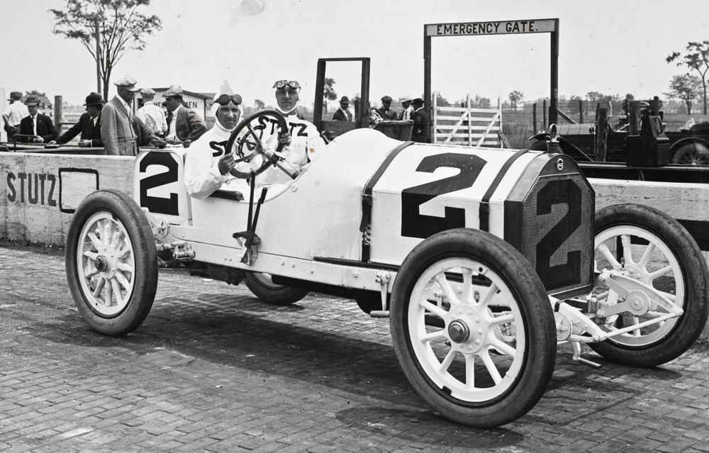 AUTO RACING: Three time National AAA Champion driver Earl Cooper ...