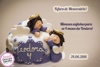 Sweet Cucas and Cupcakes by Rosângela Rolim: Mini Bolo Mesversário!!!