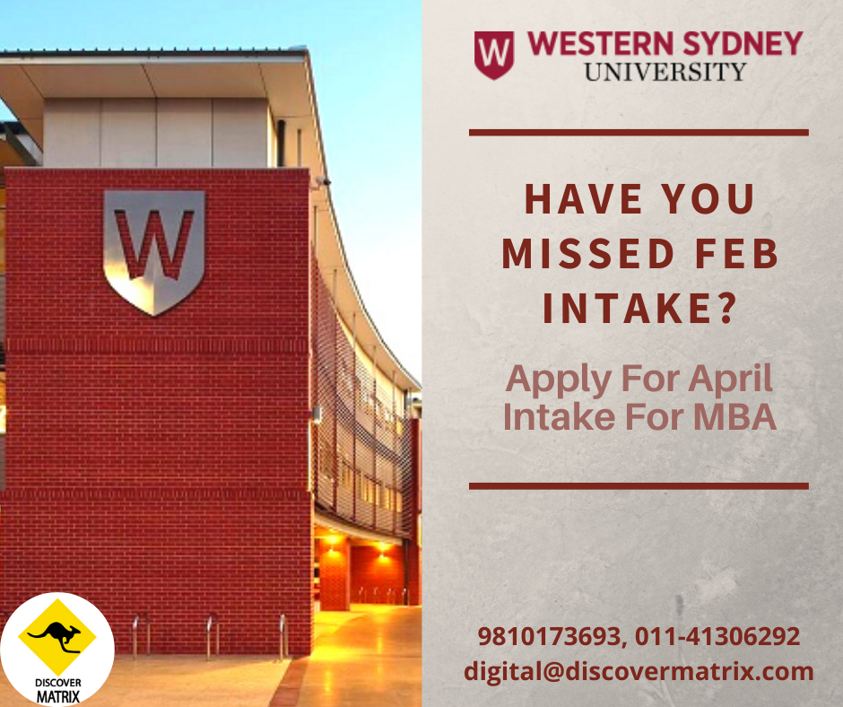 Western Sydney University Educational Consultant Career Pathways Overseas Education