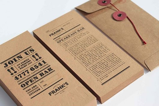 Black Ink On Kraft Paper Always Gets Me Letterpress It Or Stamp It And I M In Heaven Business Card Design Business Design Card Design