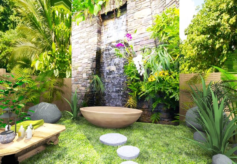 The Awesome Web  Ideas Of Outdoor Bathrooms That Go Into The Wild Part DesignRulz
