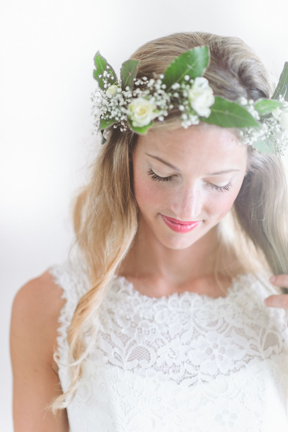 Romantic tented english countryside wedding countryside wedding natural hair makeup and a gorgeous flower crown photography paper antler paperantler izmirmasajfo