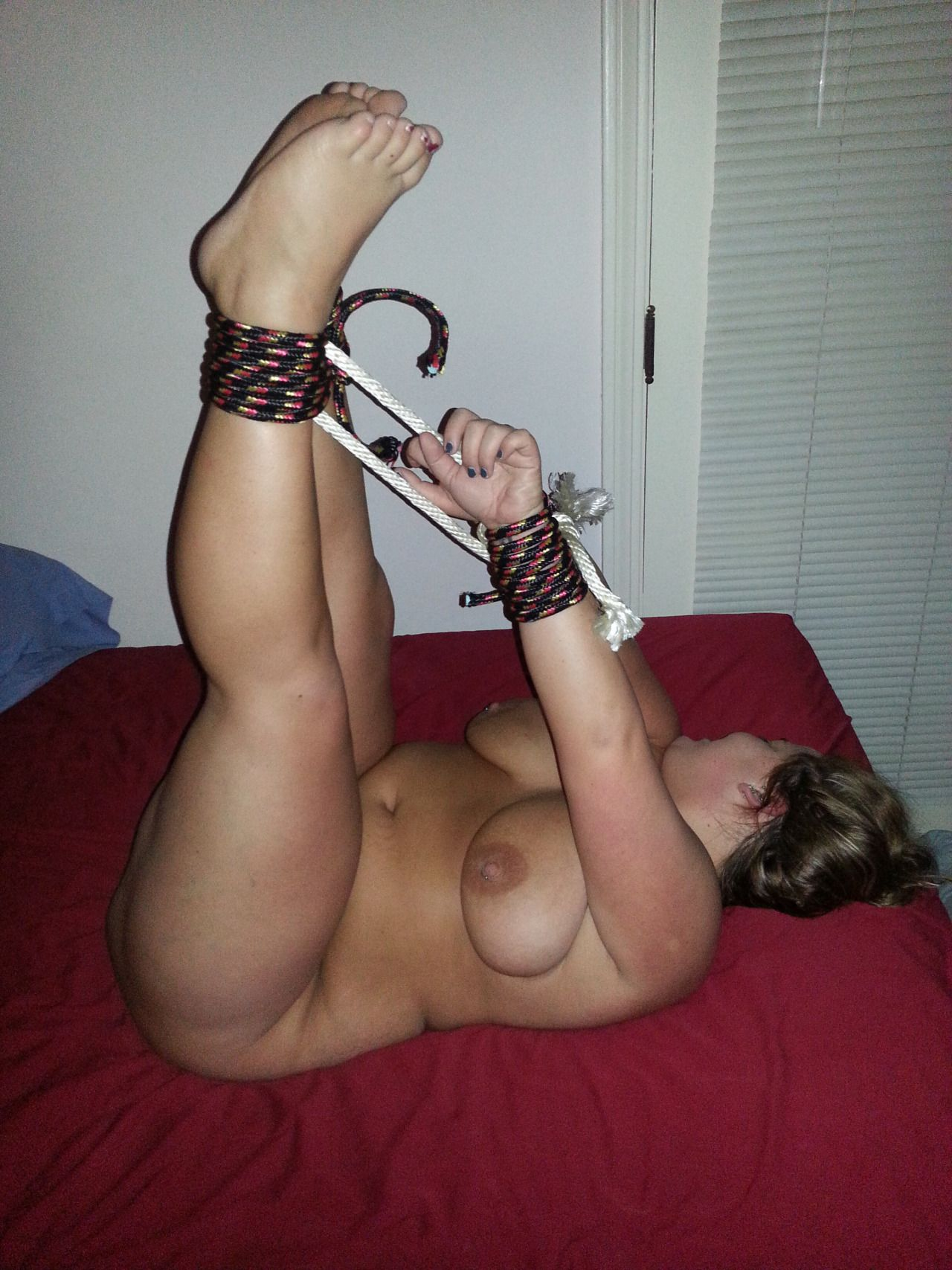 Bend over and lick