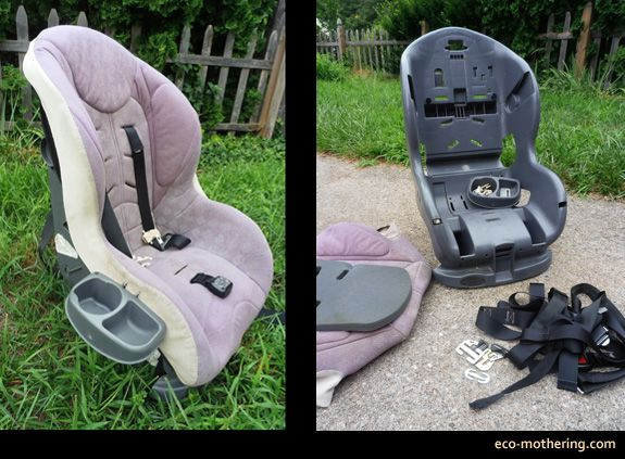 How To Safely Dispose Of An Old Car Seat