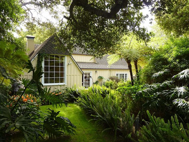 Moody Sister Cottage Garden Front Small Rustic House Rustic House Plans Small House Plans